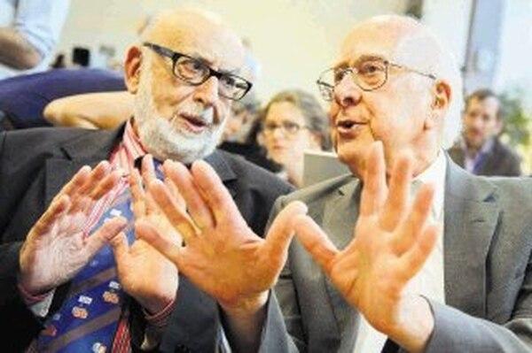 Peter Higgs y François Englert fueron galardonados por la invención del 'Bosón Higgs'.