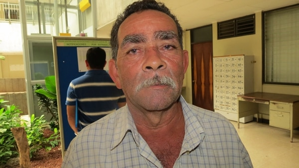 Juan Luis Quirós Cascante fue el primer juez de pueblo designado en el país, el 2 de junio de este año. Representa a la comunidad de Boca San Carlos, en la zona norte, y tiene 61 años de edad.   CARLOS HERNÁNDEZ CORRES´PONSAL GNN