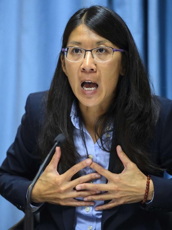 Joanne Liu, presidenta de Médicos Sin Fronteras. | AFP
