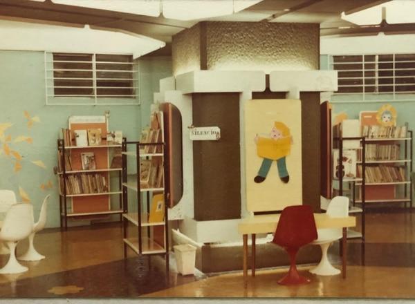 El mobiliario se ajustaba a las necesidades de los niños. Foto: Graciela Pellizari.