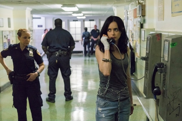 Krysten Ritter es la actriz que interpreta a la superheroína más ácida del equipo 'The Defenders'. En la nueva temporada intentará confrontar a su pasado. Foto: Netflix.