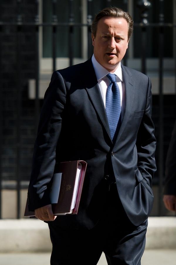 David Cameron, primer ministro británico.