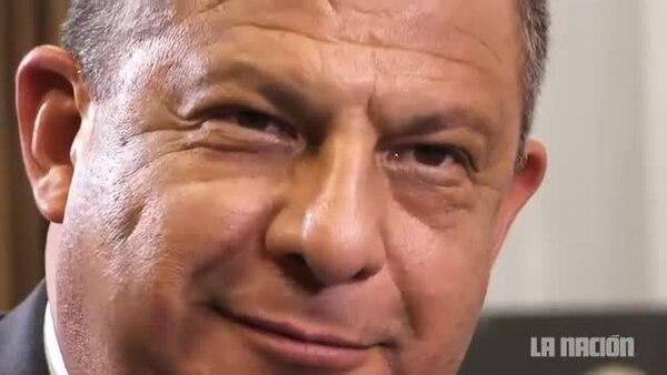 (Video) Entrevista con Luis Guillermo Solís a dos años de su gobierno