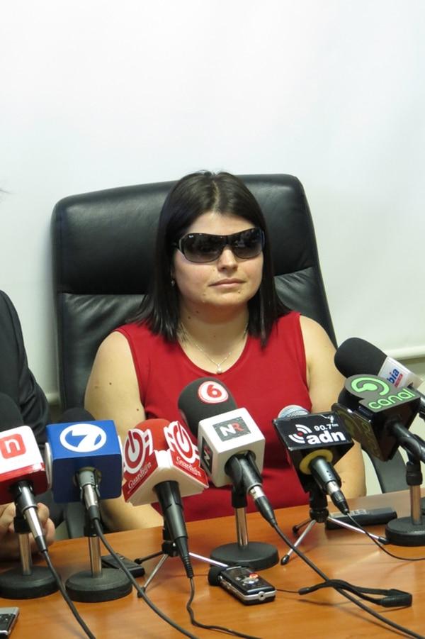 Gabriela Fonseca tiene 13 años de servicio en el OIJ. | ARCHIVO.