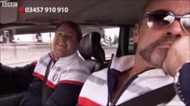 George Michael fue el primer invitado del 'Carpool Karaoke' de James Corden