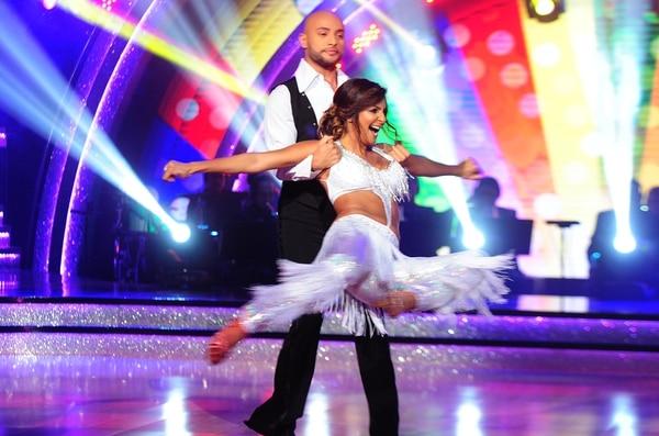 Jalé Berahimi participó en 'Dancing With the Stars' de Teletica a finales del año anterior.