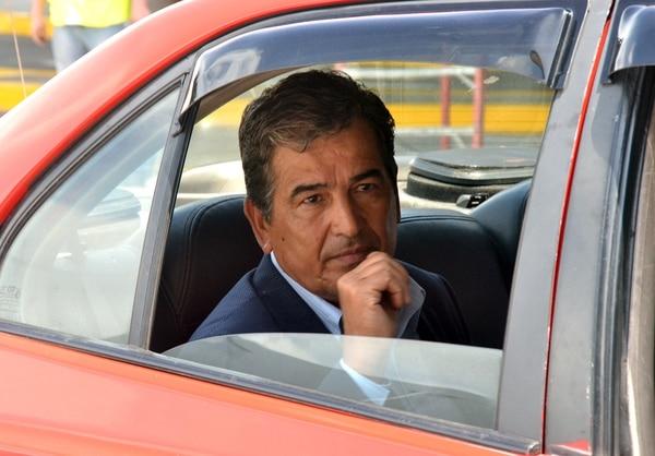 Jorge Luis Pinto regresó al país ayer por la mañana. | SHIRLEY VÁSQUEZ