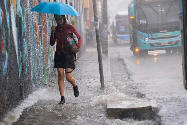 Las lluvias se han mantenido constantes en las últimas 24 horas. Foto: Archivo/ Rafael Pacheco