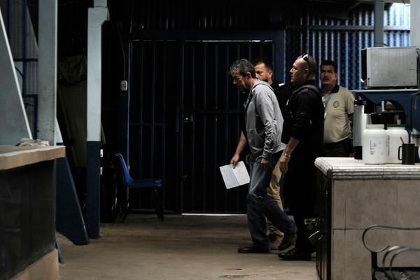 Mario Barrenechea ingresó al CAI Adulto Mayor, en La Reforma, el lunes 6 de noviembre. Foto: Rafael Murillo.
