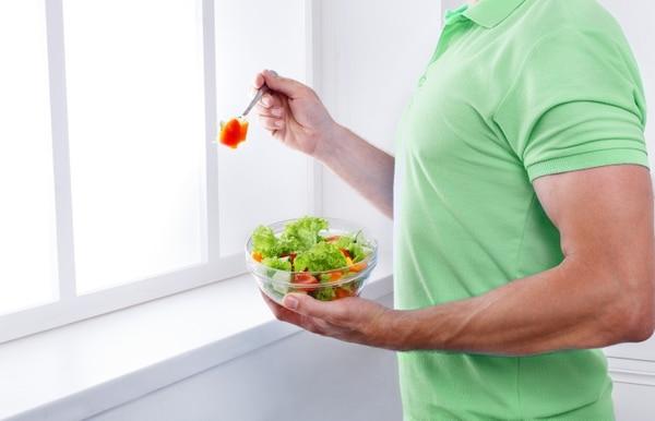 Una alimentación balanceada, que incluya frutas y verduras es vital para una buena salud reproductiva. Fotografía: Shutterstock