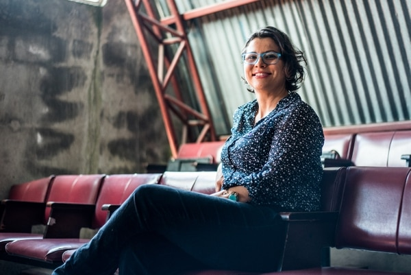 Tatiana Chaves dirige el Taller Nacional de Teatro. Foto: Archivo
