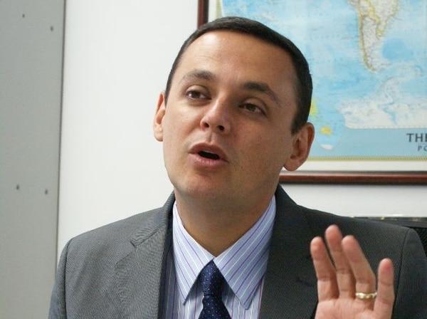 """Fernando Ocampo: """"Procomer ya realiza el estudio"""". ARCHIVO"""