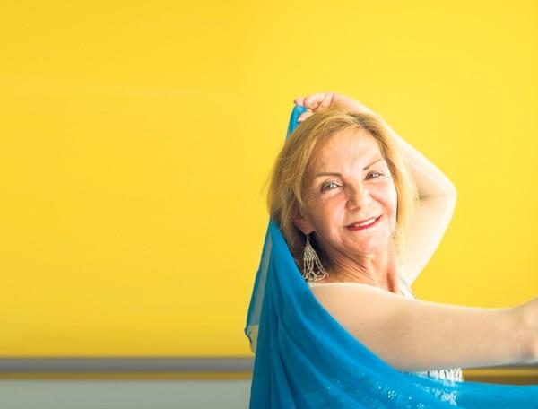 María Isabel Corrales encontró una nueva motivación para esta etapa de su vida. | RÓNALD PÉREZ