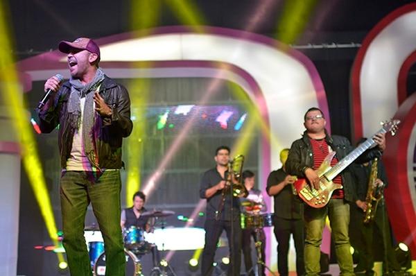 Escats fue uno de los grupos que se hizo presente en la Teletón 2013.