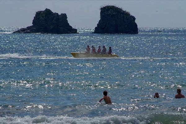 Jacó, Manuel Antonio, Guanacaste y Limón son algunos de los puntos que más atraen turismo en esta época.