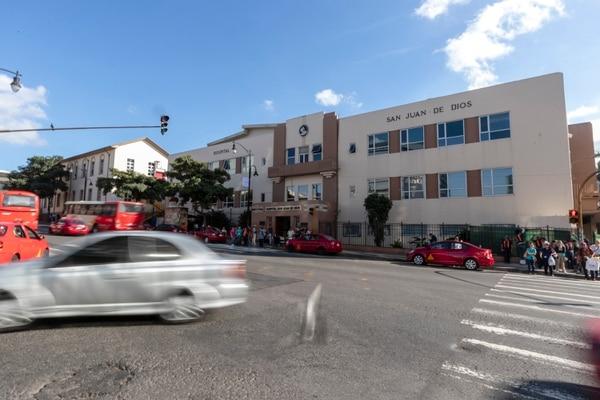 04/01/2019, San José, Fachada del Hospital San Juan de Dios. Fotografía José Cordero