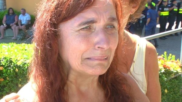 La argentina Stella Maris Canelo sobrevivió. | KENNETH BARRANTES