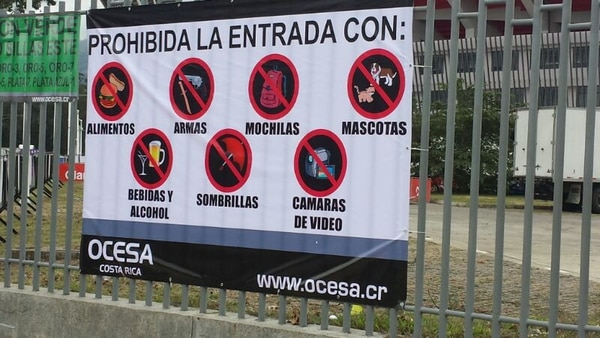 Estas son algunas de las medidas que piden en el Estadio Nacional