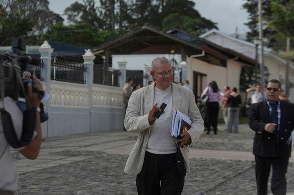 Henry Mora buscará apoyo para ser presidente legislativo.   PABLO MONTIEL