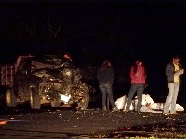 El accidente ocurrió este jueves hacia las 10 p. m. | CARLOS HERNÁNDEZ.