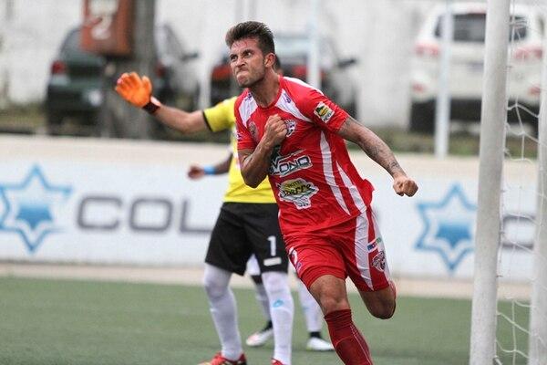 Francisco Calvo volverá con el Santos al Rosabal. | José Cordero