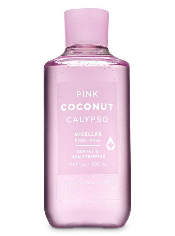 Jabón de baño Pink Coconut Calypso. Bath and Body Works