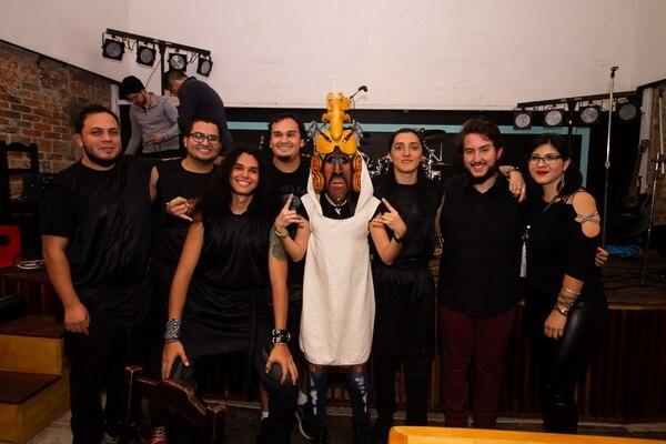 Grupo Abäk cuenta historias de literatura nacional así como la cosmovisión indígena en sus canciones. Cortesía del grupo/Roberto Ramírez