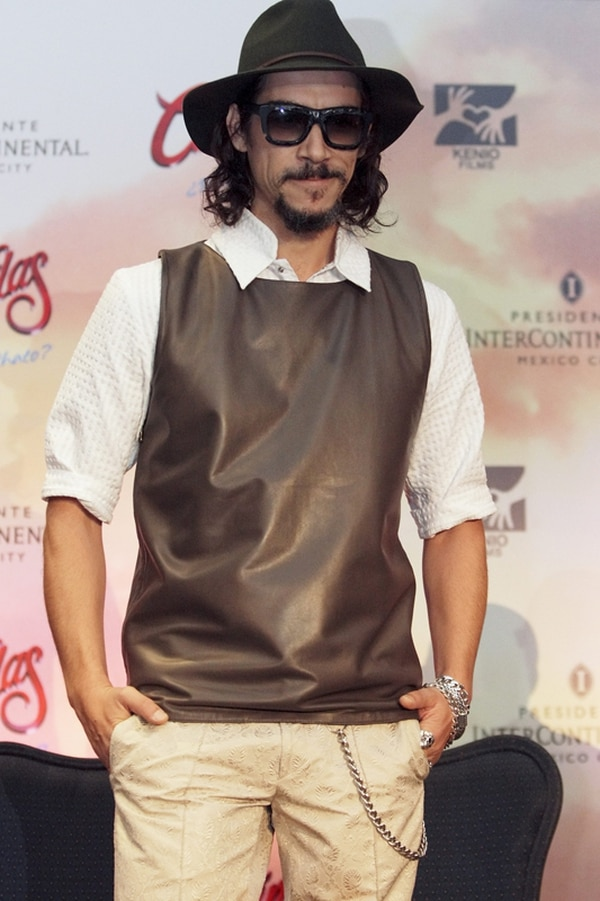 Óscar Jaenada, el actor que da vida a Cantinflas en la pantalla grande.   EFE