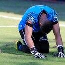 Patrick Pemberton afirmó que al igual que la afición de Alajuelense, él se siente muy dolido con la eliminación. Foto: Rafael Pacheco.