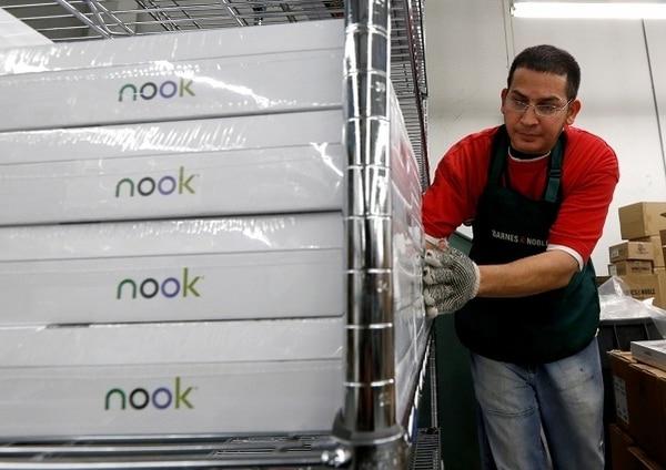 El Nook es una de las versiones de las tabletas. | AP