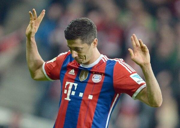Robert Lewandowski marcó ante su exequipo en el triunfo del Bayern Múnich.