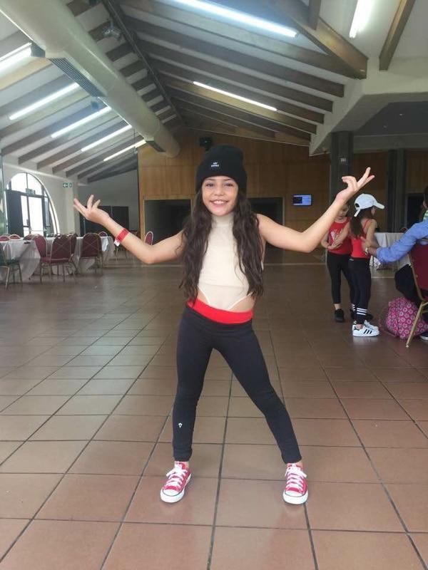 La pequeña Luciana Garnier tiene 9 años y baila desde que tiene 2.