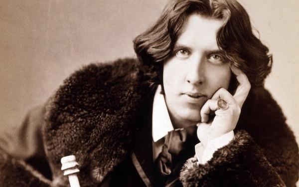 Fotografía de Oscar Wilde.