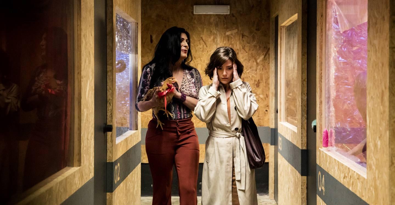 La actriz Natália Lage interpreta a Sofia en la serie 'Hard'. Fotografía: HBO para La Nación