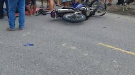 Choques entre motociclistas han segado 12 vidas este año