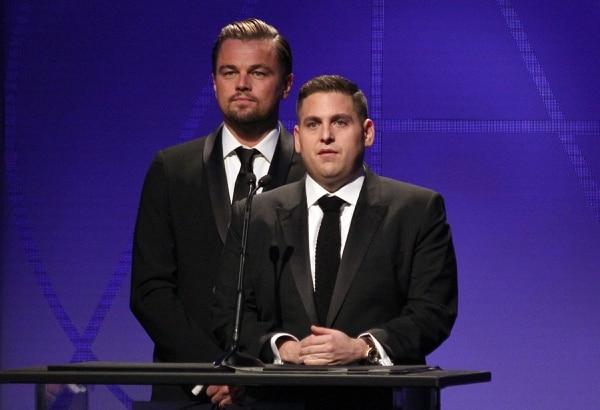 En febrero pasado, ofreció un discurso junto a DiCaprio en una premiación en Beverly Hills. El gesto de orgullo de Leonardo delata la admiración y cariño que siente por Jonah.