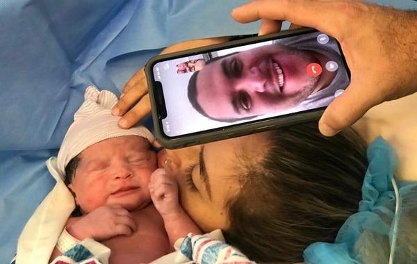 La pequeña Mariana nació el 19 de abril en Costa Rica. Foto: Cortesía Ana Laura Gómez.