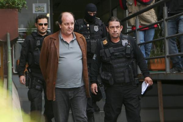 Zelada fue detenido en su casa en Río de Janeiro. | GERALDO BUBNIAK