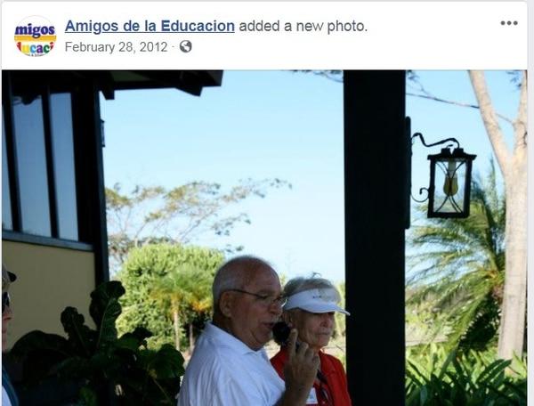 Barry Martin Lawson murió el 5 de abril del 2015 a causa de un hematoma en su cabeza provocado por ladrones que asaltaron su hogar en Tamarindo, Guanacaste cuatro noches antes. Foto: tomada del Facebook de Amigos de la Educación