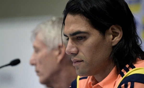 Falcao aseguró que es consciente de que aún le falta para jugar.   AFP