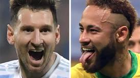 Neymar y Messi, duros rivales antes que fraternos compañeros
