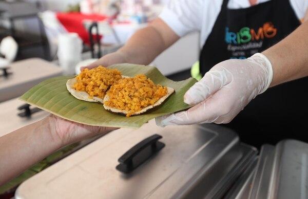 Lo mejor de la gastronomía rural costarricense se traerá a San José para deleite de los visitantes a la VIII Feria del Gustico Costarricense. Aquí una muestra de lo ofrecido en la edición del 2018. Foto: Graciela Solís