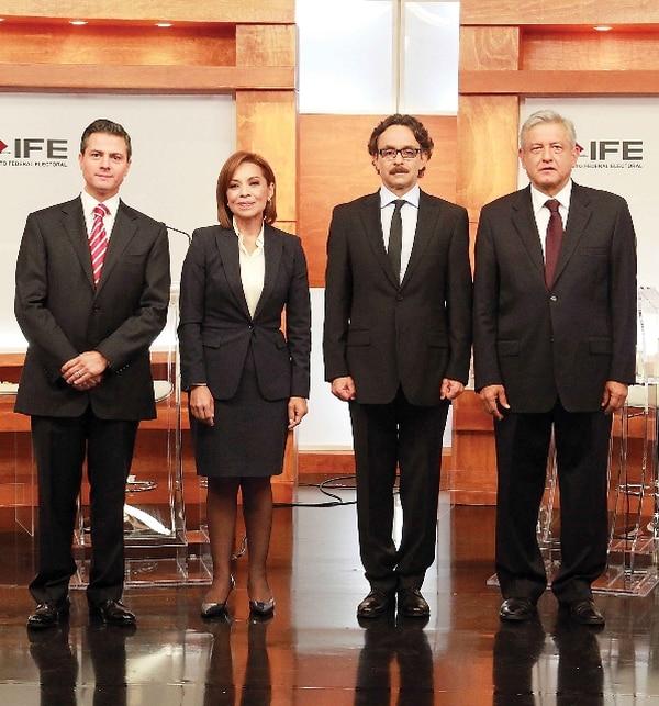 Los candidatos presidenciales tendrán su segundo debate el 10 de junio en Guadalajara. | GDA/EL UNIVERSAL
