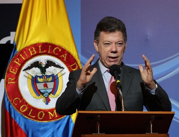 El presidente Juan Manuel Santos pidió a la Fiscalía dar prioridad a esta investigación. Lo mismo solicitó a la Procuraduría y a la Contraloría colombianas. | ARCHIVO