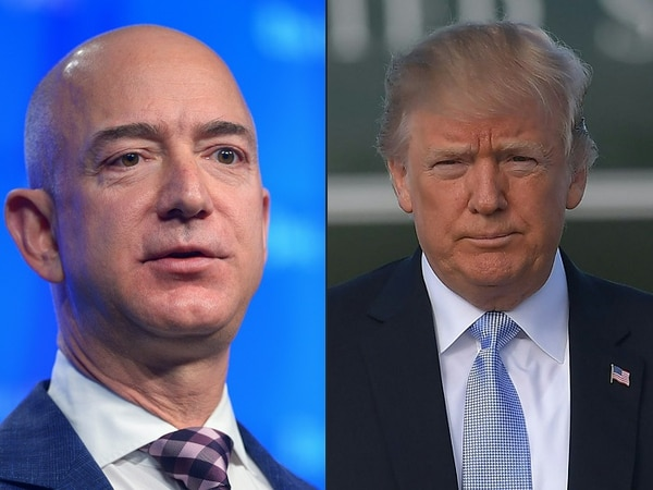 Trump critica nuevamente a Amazon por sus prácticas fiscales