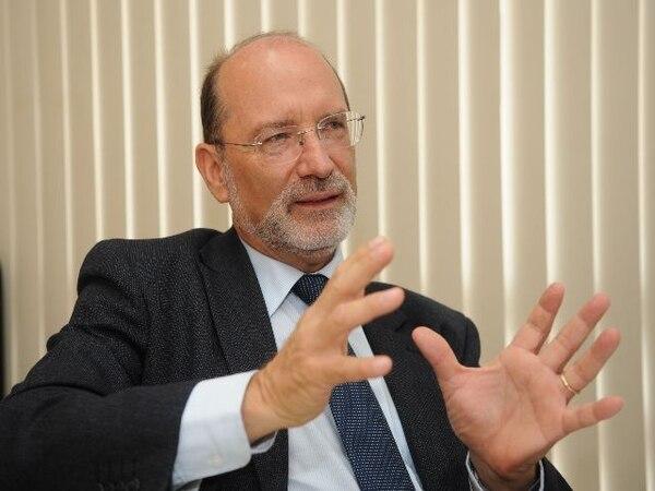 Henning Jensen,Rector de la UCR. Foto: Abelardo Fonseca