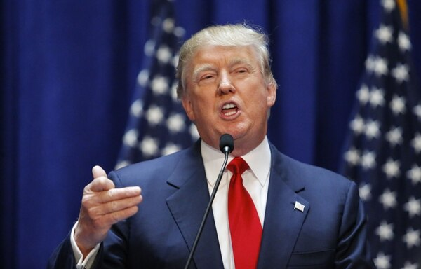 Carrera política. Donald Trump es candidato a la presidencia de Estados Unidos. AFP.