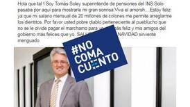 #NoComaCuento: Superintendente de Seguros no gana ¢20 millones al mes