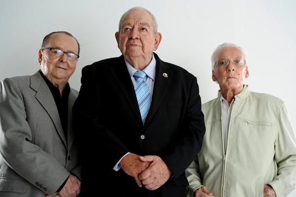 Junto a Ronald Alfaro y Otto Vargas, fue parte de los autores de la canción 'Ninguno pudo con él' del Club Sport Herediano. Foto: Jorge Navarro.