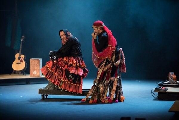 Ron Lalá ofrece extractos de obras de Miguel de Cervantes como 'La gitanilla'. FOTO: Cortesía del Ministerio de Cultura y Juventud.